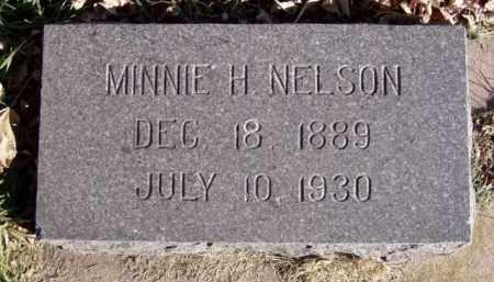 NELSON, MINNIE H. - Minnehaha County, South Dakota | MINNIE H. NELSON - South Dakota Gravestone Photos