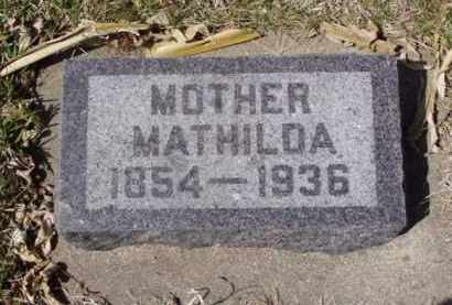 NELSON, MATHILDA - Minnehaha County, South Dakota | MATHILDA NELSON - South Dakota Gravestone Photos