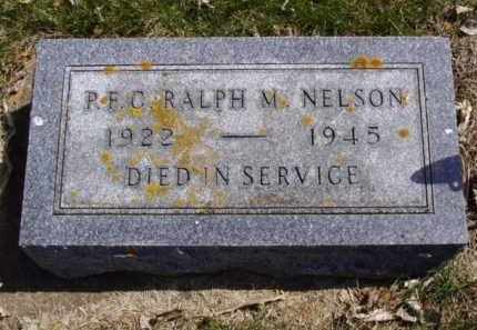 NELSON, RALPH M. - Minnehaha County, South Dakota | RALPH M. NELSON - South Dakota Gravestone Photos