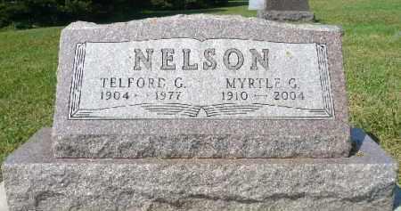 NELSON, MYRTLE G. - Minnehaha County, South Dakota | MYRTLE G. NELSON - South Dakota Gravestone Photos