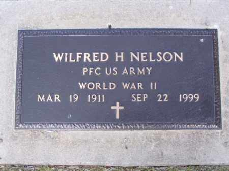 NELSON, WILFRED H. - Minnehaha County, South Dakota | WILFRED H. NELSON - South Dakota Gravestone Photos