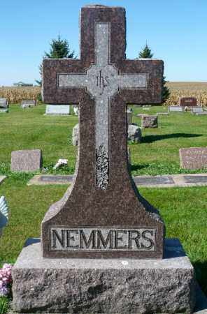 NEMMERS, FAMILY MARKER - Minnehaha County, South Dakota | FAMILY MARKER NEMMERS - South Dakota Gravestone Photos