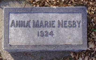 NESBY, ANNA MARIE - Minnehaha County, South Dakota | ANNA MARIE NESBY - South Dakota Gravestone Photos