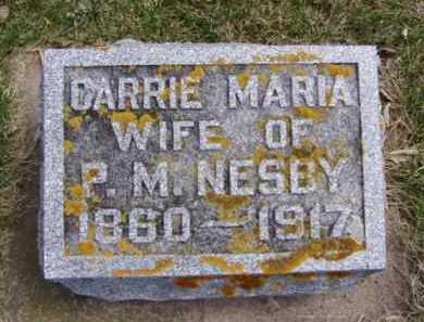 NESBY, CARRIE MARIA - Minnehaha County, South Dakota | CARRIE MARIA NESBY - South Dakota Gravestone Photos