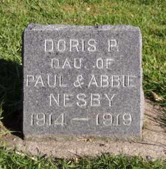 NESBY, DORIS P. - Minnehaha County, South Dakota | DORIS P. NESBY - South Dakota Gravestone Photos