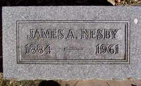 NESBY, JAMES A. - Minnehaha County, South Dakota | JAMES A. NESBY - South Dakota Gravestone Photos