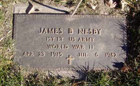 NESBY, JAMES B. - Minnehaha County, South Dakota | JAMES B. NESBY - South Dakota Gravestone Photos