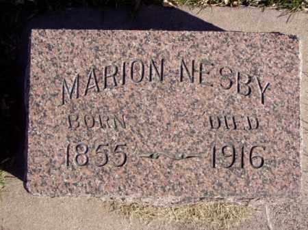 NESBY, MARION - Minnehaha County, South Dakota | MARION NESBY - South Dakota Gravestone Photos