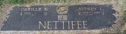 CALVERT NETTIFEE, AUDREY LUCILE - Minnehaha County, South Dakota | AUDREY LUCILE CALVERT NETTIFEE - South Dakota Gravestone Photos