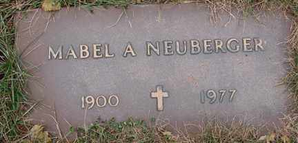 NEUBERGER, MABEL A. - Minnehaha County, South Dakota | MABEL A. NEUBERGER - South Dakota Gravestone Photos