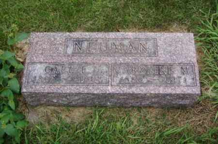 NEUMAN, CARL E. - Minnehaha County, South Dakota | CARL E. NEUMAN - South Dakota Gravestone Photos