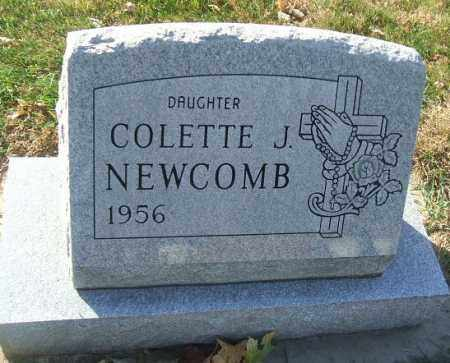 NEWCOMB, COLETTE J. - Minnehaha County, South Dakota | COLETTE J. NEWCOMB - South Dakota Gravestone Photos