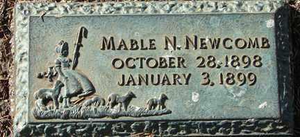 NEWCOMB, MABLE N. - Minnehaha County, South Dakota | MABLE N. NEWCOMB - South Dakota Gravestone Photos