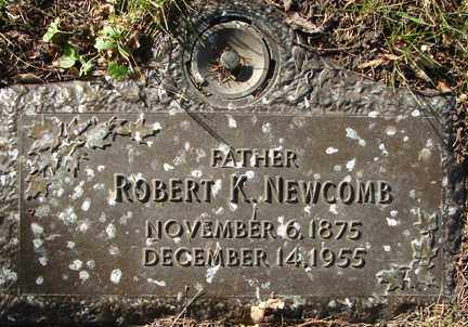 NEWCOMB, ROBERT K. - Minnehaha County, South Dakota | ROBERT K. NEWCOMB - South Dakota Gravestone Photos