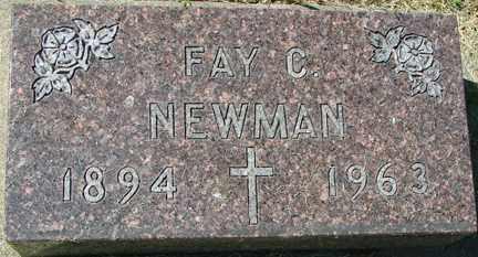 NEWMAN, FAY C. - Minnehaha County, South Dakota | FAY C. NEWMAN - South Dakota Gravestone Photos