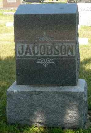 JACOBSON, LARS - Minnehaha County, South Dakota | LARS JACOBSON - South Dakota Gravestone Photos
