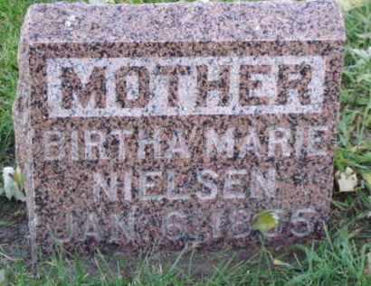 NIELSEN, BIRTHA MARIE - Minnehaha County, South Dakota | BIRTHA MARIE NIELSEN - South Dakota Gravestone Photos