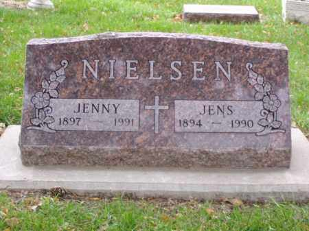 NIELSEN, JENS - Minnehaha County, South Dakota | JENS NIELSEN - South Dakota Gravestone Photos