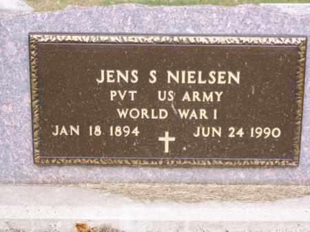 NIELSEN, JENS S. - Minnehaha County, South Dakota   JENS S. NIELSEN - South Dakota Gravestone Photos