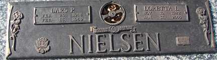 NIELSEN, LARS P. - Minnehaha County, South Dakota   LARS P. NIELSEN - South Dakota Gravestone Photos