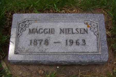 NIELSEN NIELSEN, MAGGIE - Minnehaha County, South Dakota   MAGGIE NIELSEN NIELSEN - South Dakota Gravestone Photos