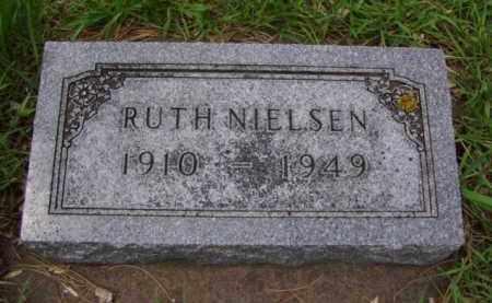NIELSEN, RUTH - Minnehaha County, South Dakota | RUTH NIELSEN - South Dakota Gravestone Photos
