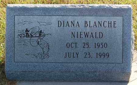 NIEWALD, DIANA BLANCHE - Minnehaha County, South Dakota | DIANA BLANCHE NIEWALD - South Dakota Gravestone Photos