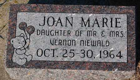 NIEWALD, JOAN MARIE - Minnehaha County, South Dakota | JOAN MARIE NIEWALD - South Dakota Gravestone Photos