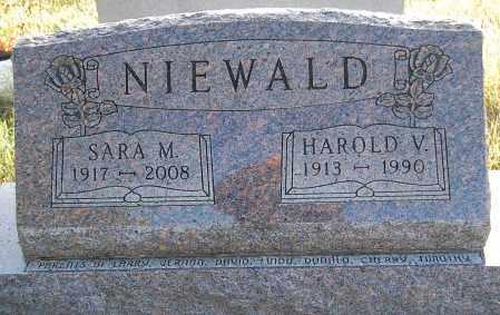 NIEWALD, SARA M. - Minnehaha County, South Dakota | SARA M. NIEWALD - South Dakota Gravestone Photos