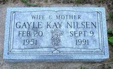 NILSEN, GAYLE KAY - Minnehaha County, South Dakota | GAYLE KAY NILSEN - South Dakota Gravestone Photos
