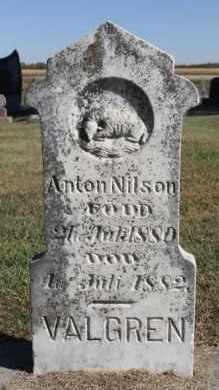 NILSON, ANTON - Minnehaha County, South Dakota | ANTON NILSON - South Dakota Gravestone Photos