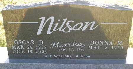 NILSON, OSCAR D. - Minnehaha County, South Dakota | OSCAR D. NILSON - South Dakota Gravestone Photos