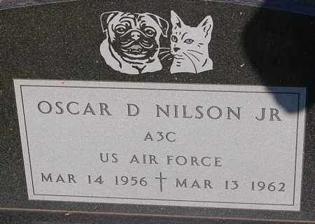 NILSON, OSCAR D. JR. (MILITARY) - Minnehaha County, South Dakota | OSCAR D. JR. (MILITARY) NILSON - South Dakota Gravestone Photos