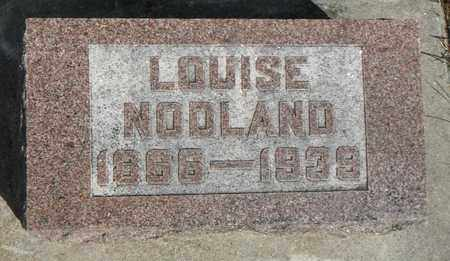 NODLAND, LOUISE - Minnehaha County, South Dakota | LOUISE NODLAND - South Dakota Gravestone Photos