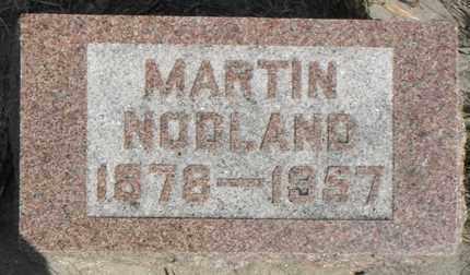 NODLAND, MARTIN - Minnehaha County, South Dakota | MARTIN NODLAND - South Dakota Gravestone Photos