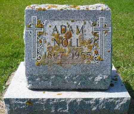 NOLL, ADAM - Minnehaha County, South Dakota   ADAM NOLL - South Dakota Gravestone Photos