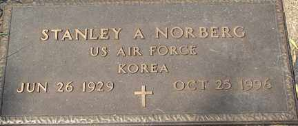 NORBERG, STANLEY A. (KOREA) - Minnehaha County, South Dakota | STANLEY A. (KOREA) NORBERG - South Dakota Gravestone Photos