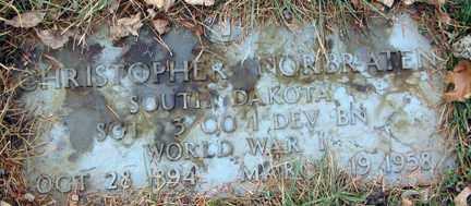 NORBRATEN, CHRISTOPHER (WWI) - Minnehaha County, South Dakota | CHRISTOPHER (WWI) NORBRATEN - South Dakota Gravestone Photos