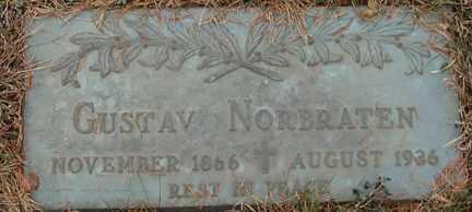 NORBRATEN, GUSTAV - Minnehaha County, South Dakota | GUSTAV NORBRATEN - South Dakota Gravestone Photos