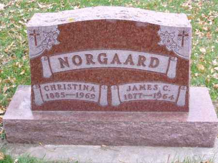 NORGAARD, JAMES C. - Minnehaha County, South Dakota | JAMES C. NORGAARD - South Dakota Gravestone Photos