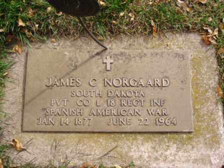 NORGAARD, JAMES C. - Minnehaha County, South Dakota | JAMES C. NORGAARD - South Dakota Gravestone Photos