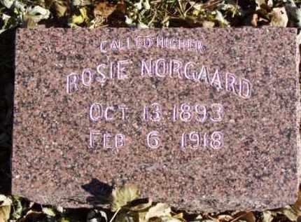 NORGAARD, ROSIE - Minnehaha County, South Dakota | ROSIE NORGAARD - South Dakota Gravestone Photos