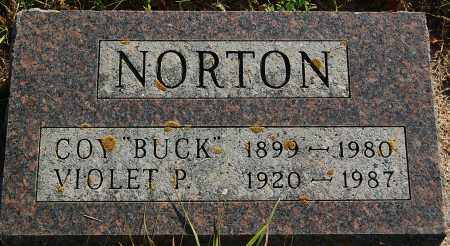 "NORTON, COY ""BUCK"" - Minnehaha County, South Dakota 