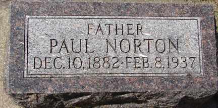NORTON, PAUL - Minnehaha County, South Dakota | PAUL NORTON - South Dakota Gravestone Photos