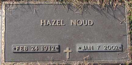 NOUD, HAZEL - Minnehaha County, South Dakota   HAZEL NOUD - South Dakota Gravestone Photos
