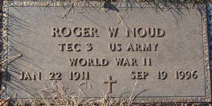 NOUD, ROGER W. (WWII) - Minnehaha County, South Dakota | ROGER W. (WWII) NOUD - South Dakota Gravestone Photos