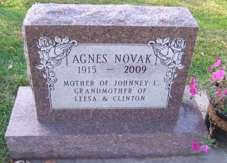 NOVAK, AGNES - Minnehaha County, South Dakota | AGNES NOVAK - South Dakota Gravestone Photos