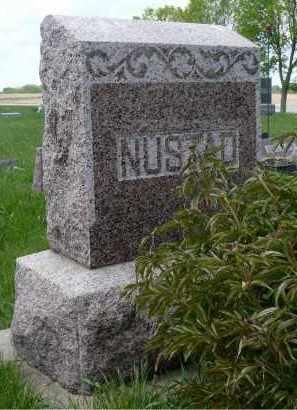 NUSTAD, FAMILY STONE - Minnehaha County, South Dakota | FAMILY STONE NUSTAD - South Dakota Gravestone Photos