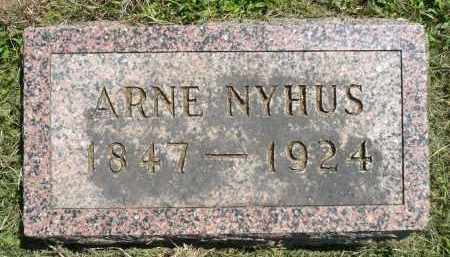 NYHUS, ARNE - Minnehaha County, South Dakota | ARNE NYHUS - South Dakota Gravestone Photos