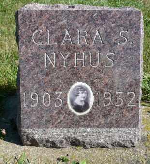 NYHUS, CLARA S. - Minnehaha County, South Dakota | CLARA S. NYHUS - South Dakota Gravestone Photos